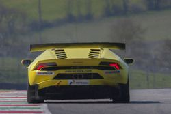 #58 SPORTEC Motorsport, Lamborghini Huracan Supertrofeo: Nicolas Stürzinger, Milos Pavlovic, Roberto