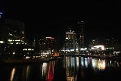 Vue sur le centre ville de Melbourne