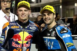 Brad Binder, Red Bull KTM Ajo, KTM and Romano Fenati, SKY Racing Team VR46, KTM