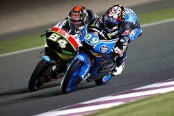 Jakub Kornfeil, Drive M7 SIC Racing Team, Honda und Jorge Navarro, Estrella Galicia 0,0, Honda