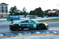 #44 Magnus Racing Audi R8 LMS: John Potter, Andy Lally, Marco Seefried