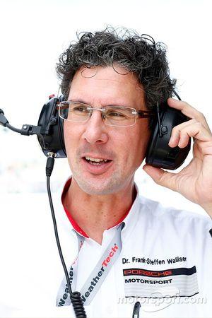 Dr. Frank-Steffen Walliser, Director de Porsche Motorsport