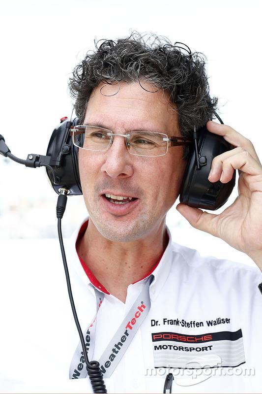 Dr. Frank-Steffen Walliser, hoofd Porsche Motorsport