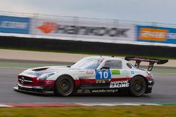 #10 Hofor-Racing Mercedes SLS AMG GT3 : Michael Kroll, Christiaan Frankenhout, Kenneth Heyer, Roland Eggimann, Chantal Kroll