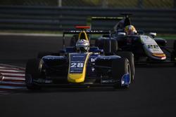 Kevin Joerg, DAMS leads Alex Palou, Campos Racing