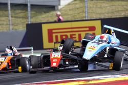 Crash von Jonathan Aberdein, Motopark und Fabio Scherer, Jenzer Motorsport