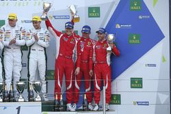 LM GTE Am: third place Francois Perrodo, Emmanuel Collard, Rui Aguas, AF Corse