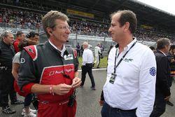 Ralf Juttner, Audi Sport Team Joest director técnico, Vincent Beaumesnil, ACO