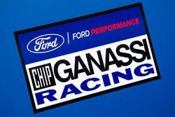 Ford Chip Ganassi Racing paddock en logo