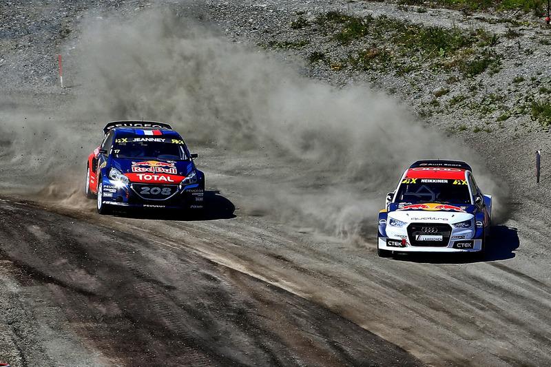 Тоомас Хейккінен, EKS RX; Деві Женне, Team Peugeot Hansen