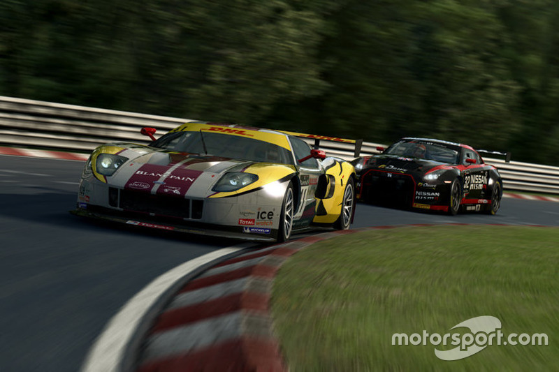 RaceRoom, Ford GT GT3 ve Nissan GT-R GT3