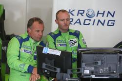 #40 Krohn Racing Ligier JS P2 - Nissan: Nic Jonsson, Olivier Pla