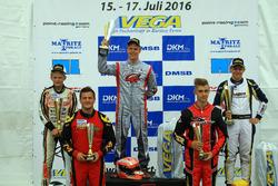 DSKC Rennen 2: 1. Patrick Kreutz; 2. Max Tuppen; 3. David Detmers; 4. Christoph Hold; 5. Maximilian