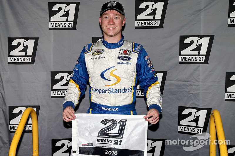 Polesitter Tyler Reddick, Brad Keselowski Racing, Ford