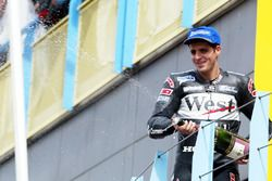 Podium: second place Alex Barros, Honda Pons