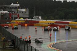 Bustopp chicane after the rain
