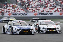 Maxime Martin, BMW Team RBM, BMW M4 DTM and Felix Rosenqvist, Mercedes-AMG Team ART, Mercedes-AMG C 63 DTM DTM