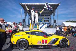 Ganadores de la carrera #3 Corvette Racing Chevrolet Corvette C7.R: Antonio Garcia, Jan Magnussen