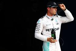 Nico Rosberg, Mercedes AMG F1 im Parc Ferme