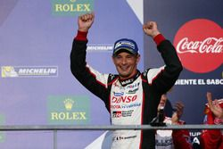 Podium: #6 Toyota Racing Toyota TS050 Hybrid: Stéphane Sarrazin