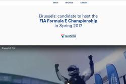 ePrix di Bruxelles, sito Web
