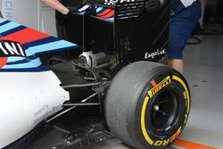 L'arrière de la Williams FW38