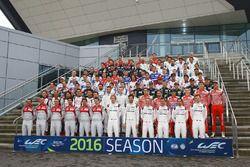 2016 WEC drivers group photo