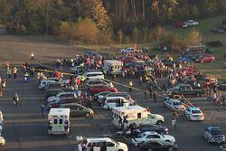 L'incident survenu après la course