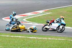 Juanfran Guevara, RBA Racing Team, Andrea Migno, Sky Racing Team VR46 chutent