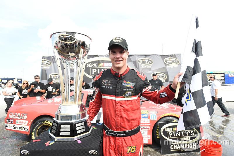 Cayden Lapcevich, NASCAR Pinty's Series 2016 Şampiyonu