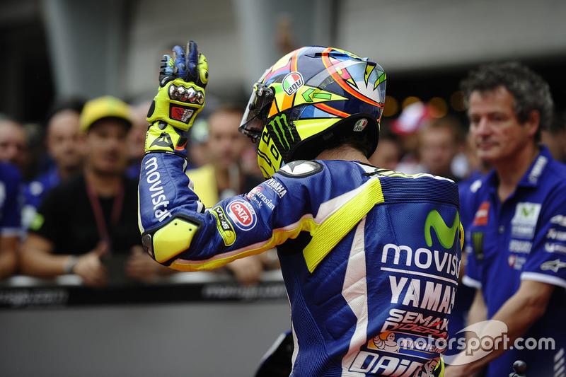Objectif victoire pour Rossi