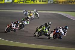 Randy Krummenacher, Puccetti Racing; PJ Jacobsen, Honda World Supersport Team