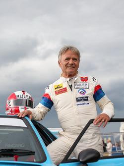 Marc Surer lors de la course des légendes de BMW M1 Procar