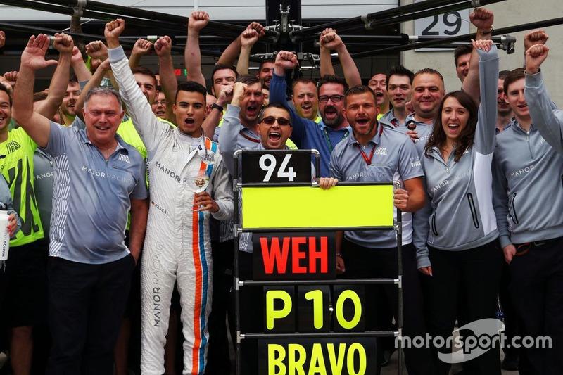 На Гран При Австрии-2016 Паскаль Верляйн финишировал 10-м и набрал последние очки в истории команды Manor