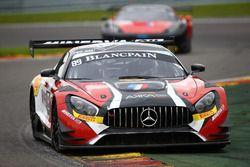 #89 AKKA ASP, Mercedes-AMG GT3: Daniele Perfetti, Laurent Cazenave, Michael Lyons, Morgan Moullin-Tr