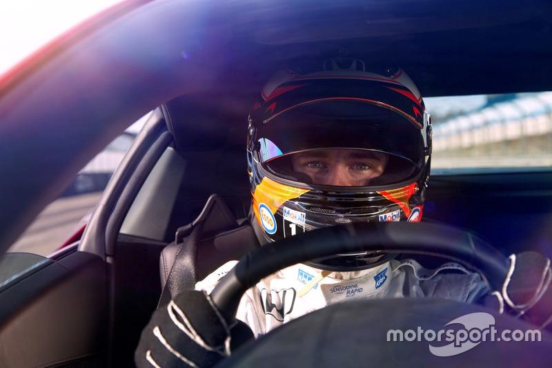 Stoffel Vandoorne im Honda NSX