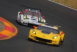 #3 Corvette Racing Chevrolet Corvette C7.R: Antonio Garcia, Jan Magnussen, #912 Porsche Team North A