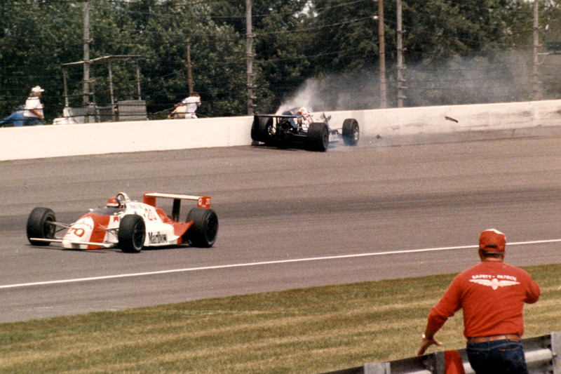 Accidente de Al Unser Jr.