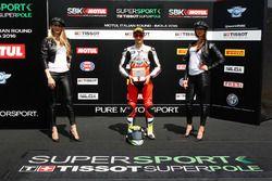 Ganador de la pole Jules Cluzel, MV Agusta