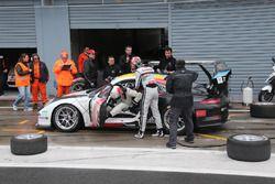 Porsche 911 GT3 CUP #13, cambio pilota Gaidai - Ledogar, Tsunami RT - padova