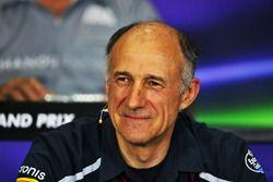 Franz Tost, director del equipo Scuderia Toro Rosso en la Conferencia de prensa FIA