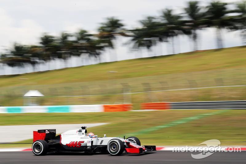 Romain Grosjean, Haas F1 Team VF-16, Ausfall