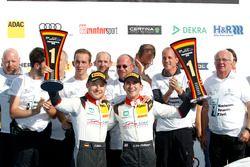 Meister 2016, #29 Montaplast by Land-Motorsport, Audi R8 LMS: Christopher Mies, Connor De Phillippi