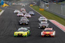 Mike Rockenfeller, Audi Sport Team Phoenix, Audi RS 5 DTM e Augusto Farfus, BMW Team MTEK, BMW M4 DT