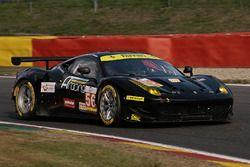 #56 AT Racing, Ferrari F458 Italia: Alexander Talkanitsa, Alexander Talkanitsa Jr, Alessandro Pier G