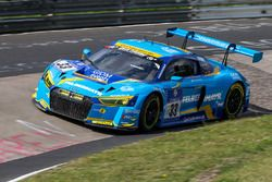 #33 Car Collection Motorsport, Audi R8 LMS: Andreas Ziegler, G. Tonic, Ronnie Saurenmann, Peter Schm