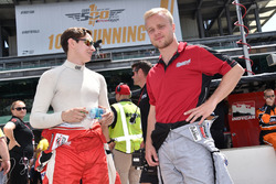 Zach Veach, Belardi Auto Racing, und Felix Rosenqvist, Belardi Auto Racing