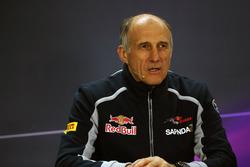 Franz Tost, team principal Scuderia Toro Rosso lors de la conférence de presse de la FIA