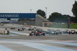 Start, Lance Stroll, Prema Powerteam Dallara F312 – Mercedes-Benz