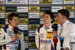 Pressekonferenz: #1 AMG - Team Zakspeed Mercedes-AMG GT3: Luca Ludwig, Sebastian Asch
